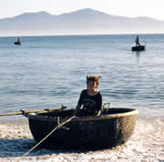 Karen training for Grand Coracle Race